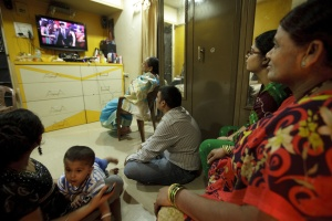 Indian soap operas, ruled by mothers-in-law.